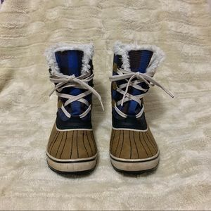 Sorel Tivoli Plaid Boots